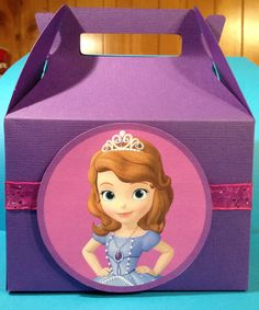 Sofia the First Favor Boxes