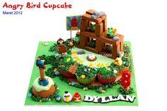 Angry Bird Cupcake 1 by Honey's Mini Cakes, via Flickr