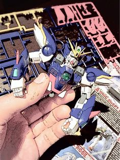 Wing Gundam Zero/ the make of: once upon a time.