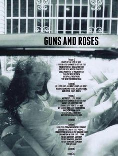 Guns and roses Lana Del Rey Quotes, Lana Del Rey Lyrics, Lana Del Ray, Roses Lyrics, Elizabeth Woolridge Grant, Nancy Sinatra, Love Gun, Guns And Roses, Sing To Me