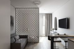 2 Small Apartment with Modern Minimalist Interior Design - RooHome | Designs & Plans