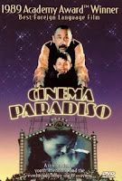Cinema Paradiso (1988) Winner of the 1989 Best Foreign Language Film Oscar, this film is about a successful film director who, in flashbacks, remembers his childhood when he developed a friendship with a projectionist at a local film theatre. The projectionist serves as a father figure to the young boy and teaches him about the magic of film. This film is a celebration of the movies and they can touch our lives.