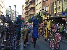 Actuación en el Desfile de Fiestas de Sabiñanigo 2015.