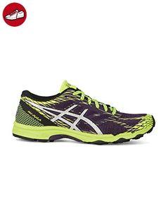 Asics - Sneaker - Herren - Running Gel Fudji Lyte in Violett und Gelb für herren - 40,5 - Asics schuhe (*Partner-Link)
