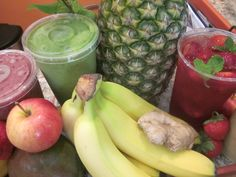 You'll recognize the fresh ingredients in our artisan smoothies