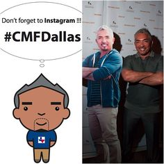 Dallas! Who's coming to my show tomorrow night at the AT Performing Arts Center? Don't forget to find my double, take photos and Instagram #CMFDallas!!