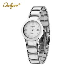 >> Click to Buy << Onlyou Brand White Black Ceramic Watches Womens Mens Fashion Quartz Watch Sapphire Crystal Ladies Dress Watch Female Clock 6911 #Affiliate