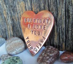 Unique Valentine Gift Anniversary for by CandTCustomLures on Etsy, $17.00