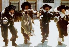 The Three Musketeers 1973 (The Best!)  http://www.imdb.com/title/tt0072281/