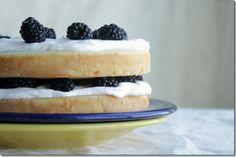 Blackberry Cream Cake : Yes, I want cake.