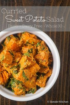 The perfect picnic side for any diet - it's paleo, Whole30, gluten free, and dairy free!