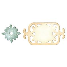Sizzix - Originals Die - Jewelry - Die Cutting Template - Medium - Frame and Medallion at Scrapbook.com $11.99