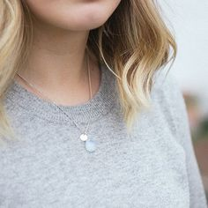 WIN one of my mermaid tear necklaces with an initial charm on Louise of @lvinlovewith's blog!  Visit lvinlovewith.com to enter.