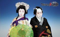 Kabuki Dancer | Curiosidades] Influencia do Teatro Kabuki nos Tokusatsus - com ...