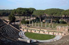 Ostia Antica the Anphitheatre