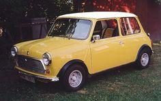 Image result for vintage mini cooper