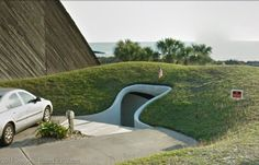 House of the Week: Grass Dome Home in Florida Atlantic Beach Fl, Monolithic Dome Homes, Rich Home, Underground Homes, Dome House, Earth Homes, Florida Home, Small Houses, Doorway