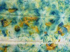 Iris Eco Dyes and Prints | Threadborne nice tutorial of sorts