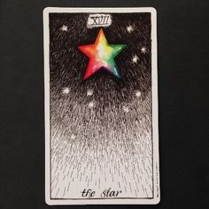 The Star :: Wild Unknown Tarot. Card meanings, keywords, description. http://happyfishtarot.com/blog/the-star-wild-unknown-tarot-card-meanings/