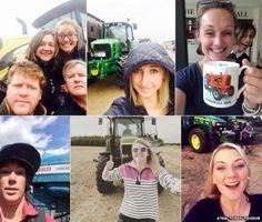Tractor selfies
