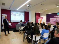 16/03/2016 Seminario del Programa Europeo JobClub+. Exposición de uno de los participantes en el Proyecto Piloto en Valladolid.
