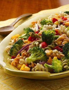 Fresh Vegetable-Pasta Salad