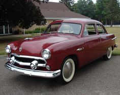 "1951 Ford Deluxe - Note the ""Moon"" wheel covers"