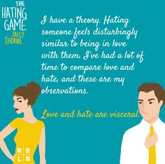 The Hating Game by Sally Thorne Google Search Image