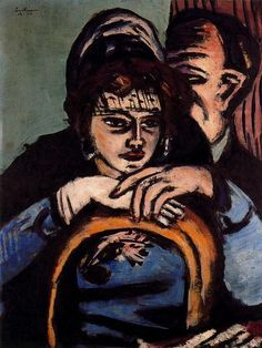 Max Beckmann (German; 1884-1950): Loge II.