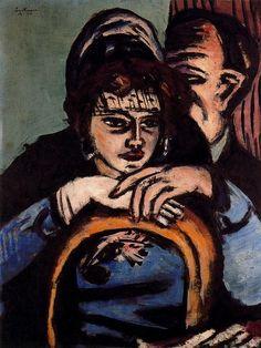 Loge II by Max Beckmann (1884-1950, Germany)