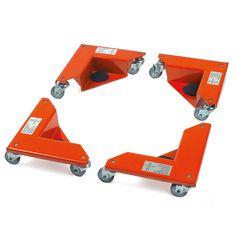 Mit den Eckenrollern hast du eine sinmple, aber effektive Lösung um Schränke zu bewegen ...
