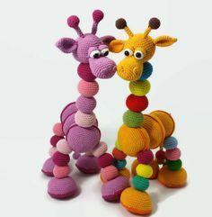 Amalka Giraffe-Hippe Haaksels-US Crochet Giraffe Pattern, Crochet Amigurumi Free Patterns, Easy Crochet Patterns, Free Crochet, Crochet Baby Toys, Crochet Mouse, Crochet Animals, Crochet Slippers, Stuffed Toys Patterns
