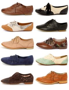 Oxford Flats via lulus.com