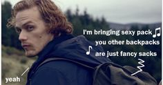 Outlander fan and blogger Connie Verzak is grateful for Sam Haughan's Barbour clothing advert to bring her out of the doldrums long enough to say: Merry Samsmas!