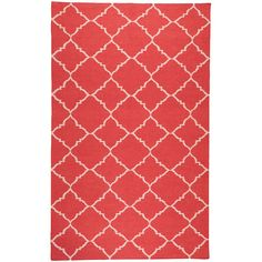 I pinned this Lakeport Rug in Red from the Bright Palettes event at Joss and Main!