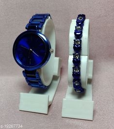 Watches new titan with breaclet watches combo Strap Material: Metal Display Type: Analogue Size: Free Size Multipack: 1 Country of Origin: India Sizes Available: Free Size   Catalog Rating: ★4.1 (1664)  Catalog Name: Stylish Women Watches CatalogID_3962018 C72-SC1087 Code: 952-19267734-297