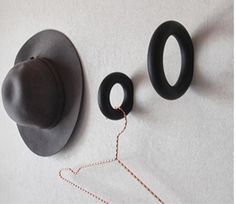 Gym Wall Hook by Hay