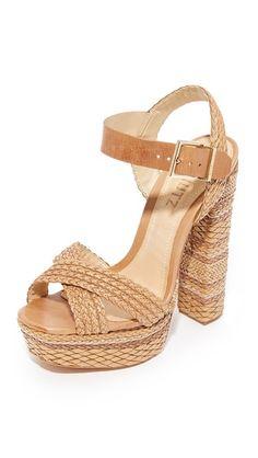 8e37a7264baa Schutz Lorah Platform Sandals Nude Sandals