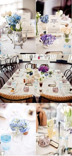 Great table ideas...