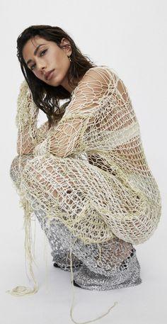 Stylish Girl, Acne Studios, Balenciaga, Alexander Mcqueen, Kimono Top, Dreadlocks, Spring Summer, Style Inspiration, Hair Styles