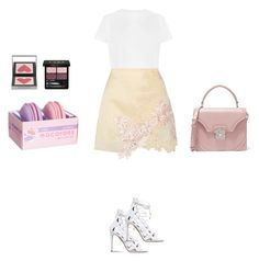"""Spring with basic white"" by zeynepkartal on Polyvore featuring moda, 3.1 Phillip Lim, Aquazzura, Burberry, Gucci, Alexander McQueen, WardrobeStaples ve wardrobebasics"