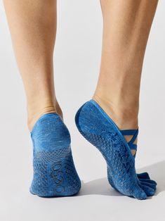 Elle Full Toe Leg Warmers + Socks in Lapis by Toesox from Dance Socks, Grip Socks, Bra Sizes, Leg Warmers, Heeled Mules, Toe, Legs, Fashion, Shoe