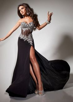 A Line Absorbing Glamorous Sweetheart Sleeveless Beading Applique Prom Dresses New!