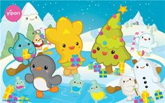 yipori Christmas wallpaper