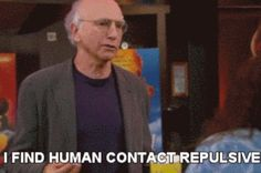 21 Times Larry David Totally Nailed What It's Like Not Being A People Person
