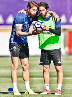 9ecc095fb65 Sergio Ramos and Isco First Football