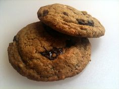 Browned butter, toasted coconut and chocolate chip cookies