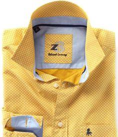 Zodiac | Z3 | Shirts #yellow #shirts #PrintedShirts #Prints #Z3 #Zodiac #casual #casualshirts