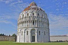 Baptisterium Pisa, Italy