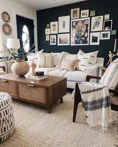 Small Living Rooms, Home Living Room, Living Room Designs, Living Room Decor, Bedroom Decor, Living Room Interior, Decor Room, Apartment Living, Beige Living Rooms